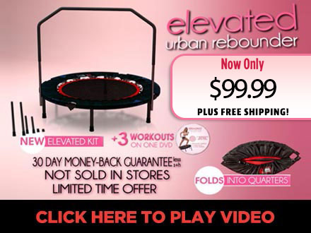 Mega Dvd With 3 Fun Workouts Instruction Manual This Gym Urban Rebounder Is The Official Used In Over 5 000 Gyms Worldwide