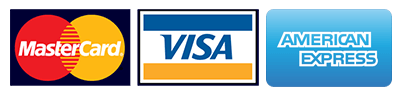 credit cards accepted mc visa amex