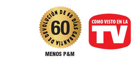 GARANTÍA DE DEVOLUCIÓN DE 60 DÍAS
