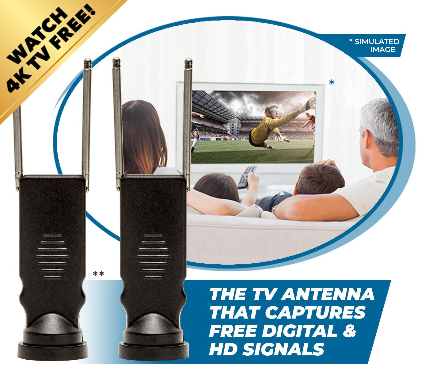 Clear TV 4K Long Range Offer - $200 Value