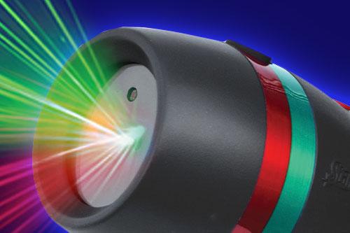 Close up of sensor on Star Shower Motion