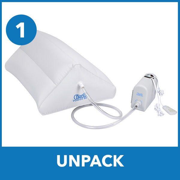 unpack power bed