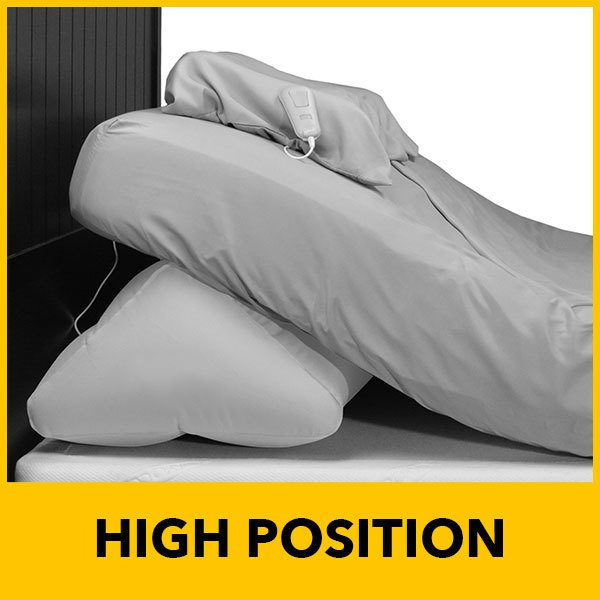 power bed in high position
