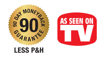 90 day money back guarantee - as seen on tv