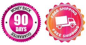 90 day money back free shipping