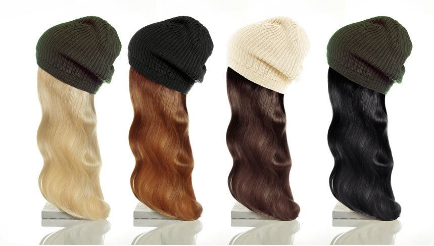 all 4 hat colors and hair colors