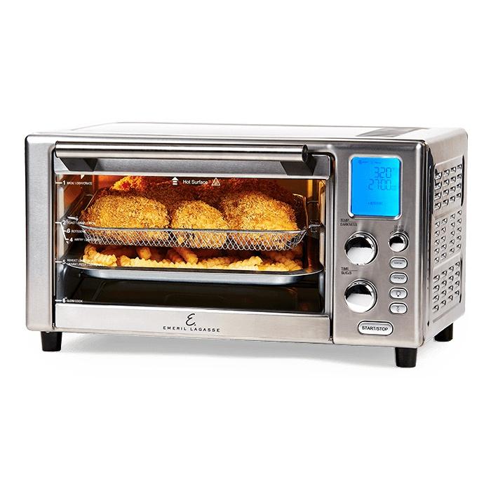 Power AirFryer 360 Plus Emeril Lagasse Air Fryer Bake Roast Slow-Cook 1500 Watts