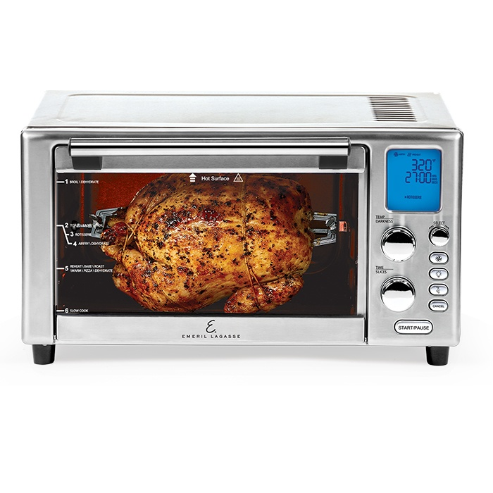 air-fried rotisserie chicken