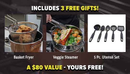 includes free bonus gifts