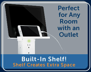 perfect for any room with an outlet
