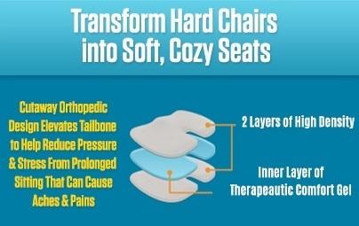 transform hard chairs into soft cozy seats