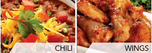 chili & wings
