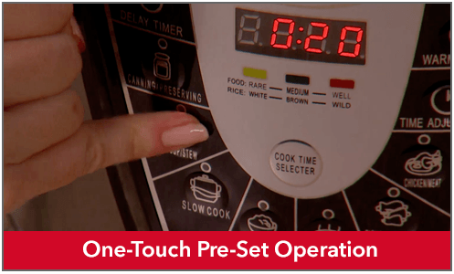 One-Touch Preset Operation