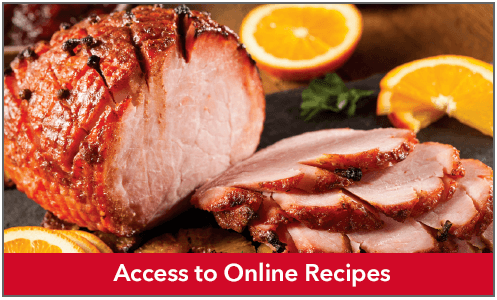 Access to Online Recipes