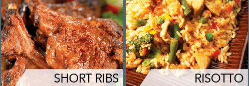 short ribs & risotto