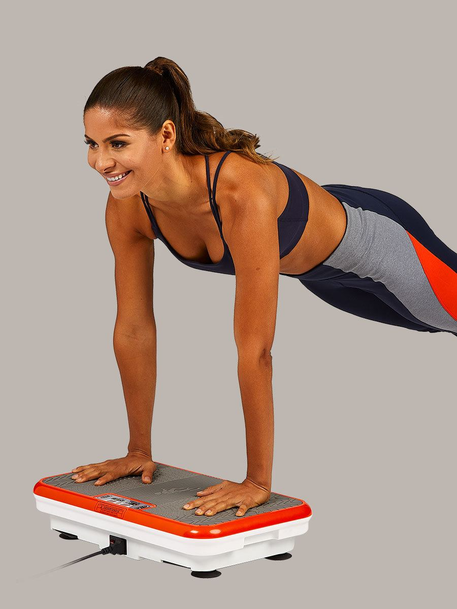 woman doing pushups on PowerFit Elite
