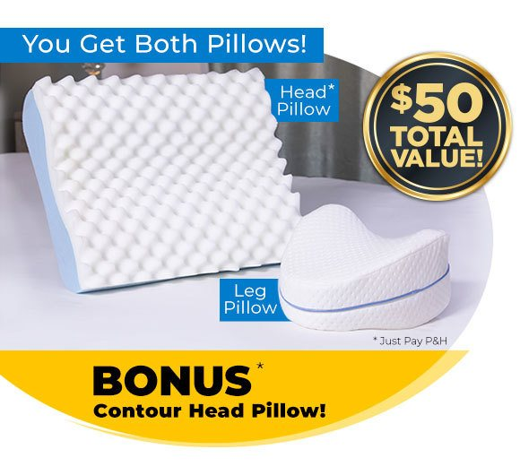 COVER ONLY Contour Leg Pillow Replacement Cover