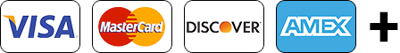 Visa MasterCard Discover Amex Plus Sign