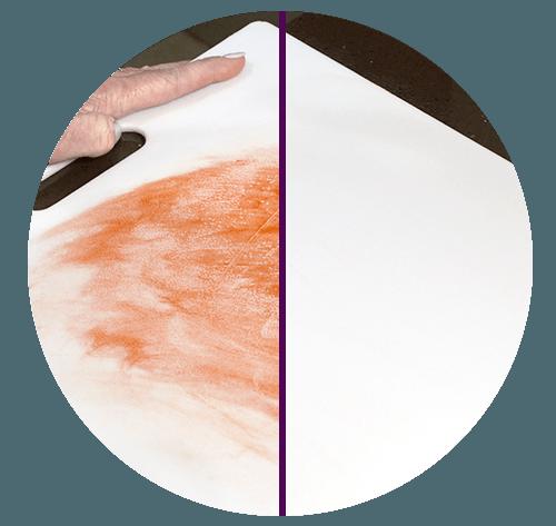 Kitchen stains