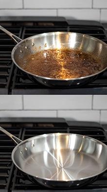 Eliminate grease grime