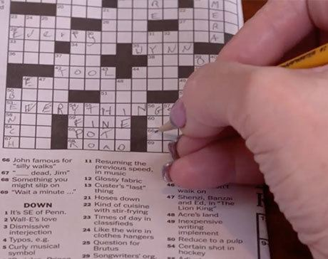 Crosswords are effortless