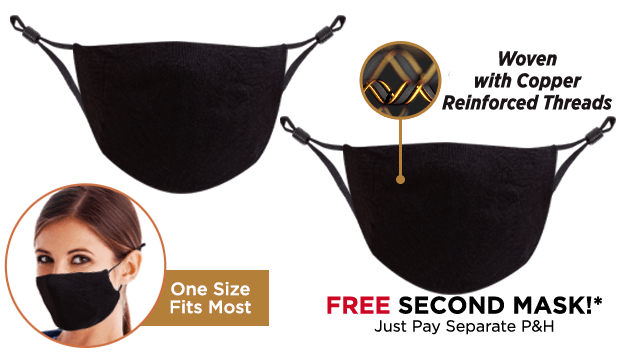 Copper Wear Mask Double Offer
