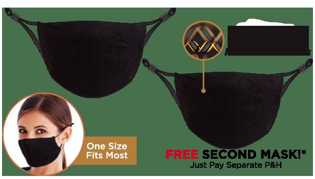 Copper Wear Masks Double Offer