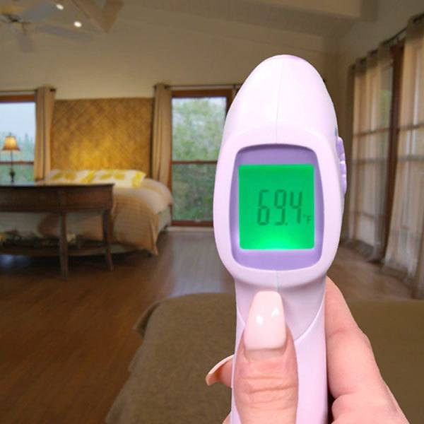 using temp a sure to check room temperature