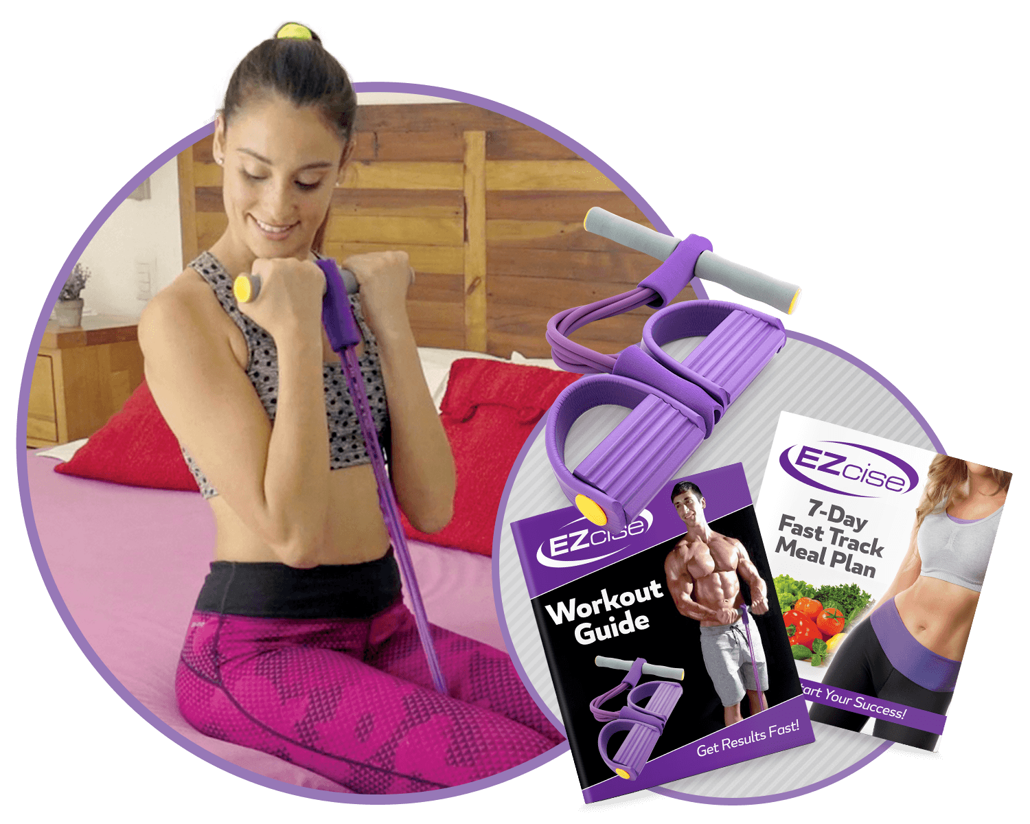 Ezcise double offer with meal plan and workout guide