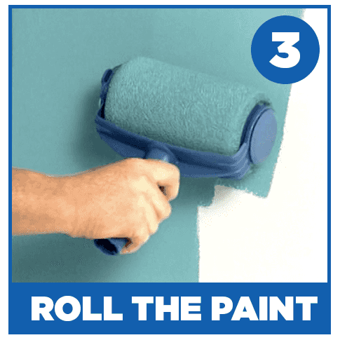Roll the paint