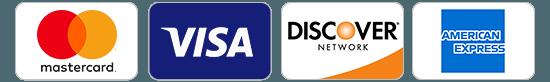 Mastercard – Visa – Discover – Amex