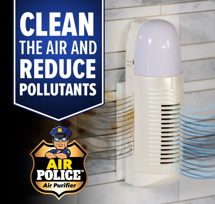 Air Police Clean the Air and Reduce Pollutants