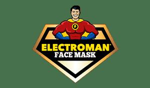 Electroman Face Mask logo