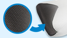 3-D mesh fabric for air flow