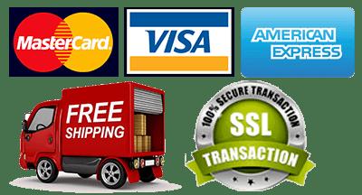 mastercard visa amex accepted ssl protected