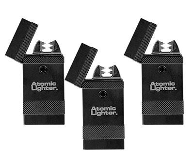 Three Atomic Lighters