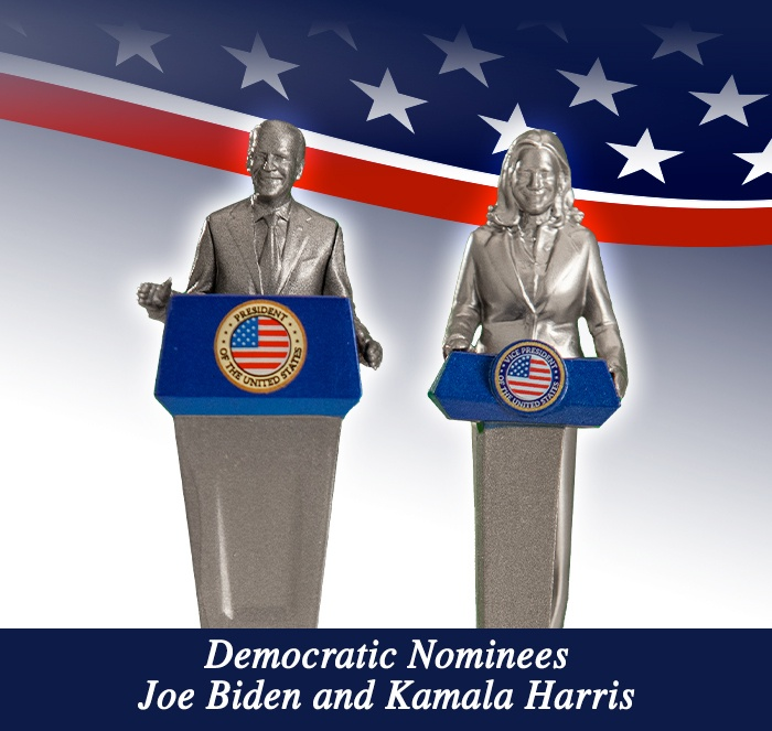 Democratic Nominees Joe Biden and Kamala Harris