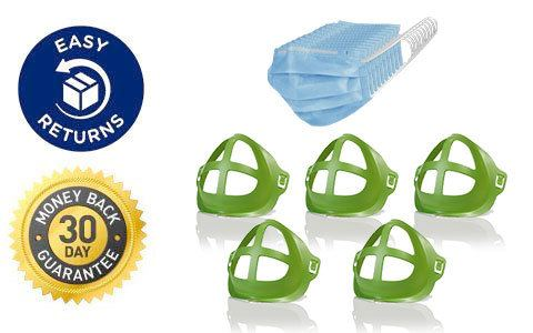 Five Cool Turtles, 10-Pack of Electroman Face Masks, Easy Returns, 30 Day Money Back Guarantee