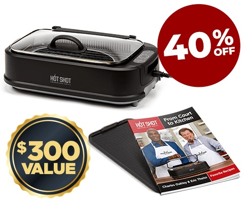 Includes non stick griddle plate and grill plate, two grilling recipe books, tempered glass lid with handle sale