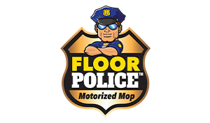 Floor Police Motorized Mop logo