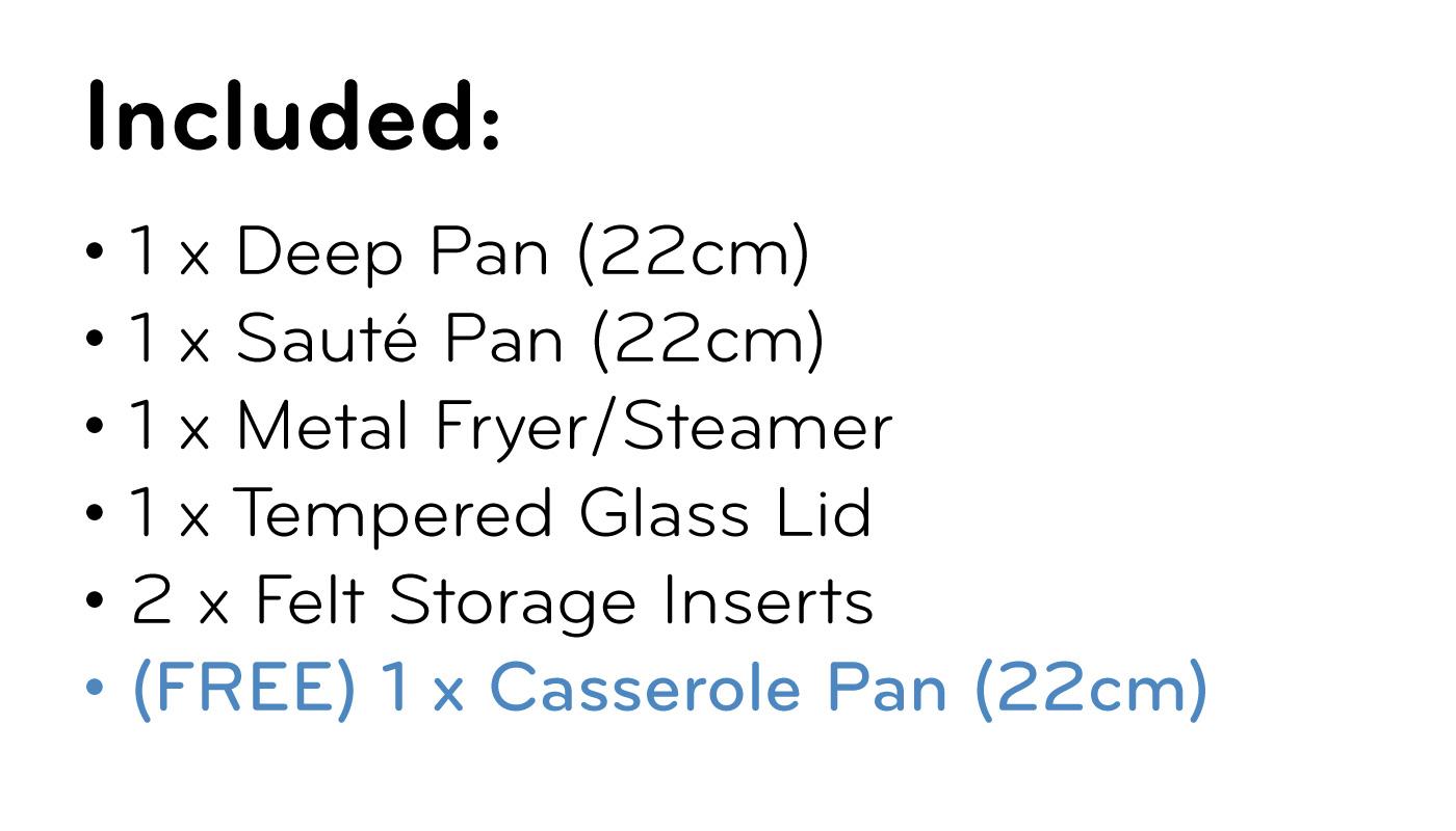 FlavorStone Diamond Set (22cm) List