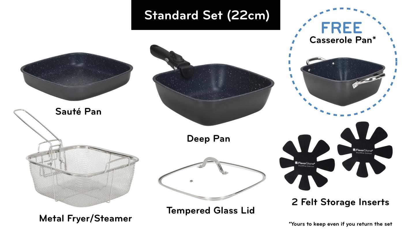 FlavorStone Diamond Standard Set (22cm)