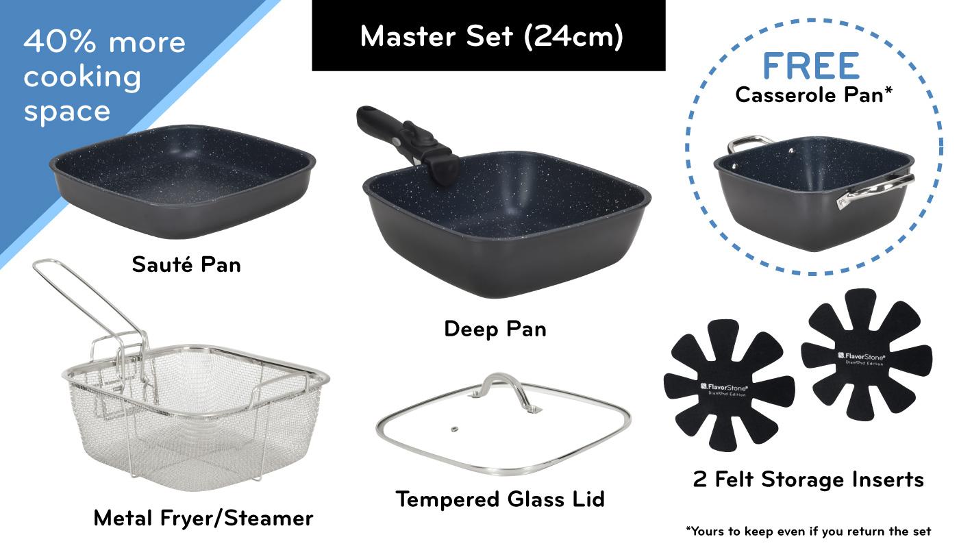 FlavorStone Diamond Master Set (24cm)