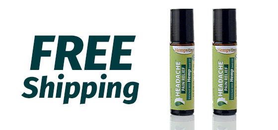 Free Shipping; Two Hempvana Headaches