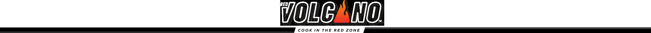 red volcano logo