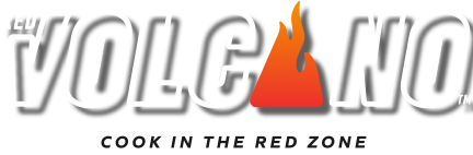 Red Volcano by The Cookware Company Logo