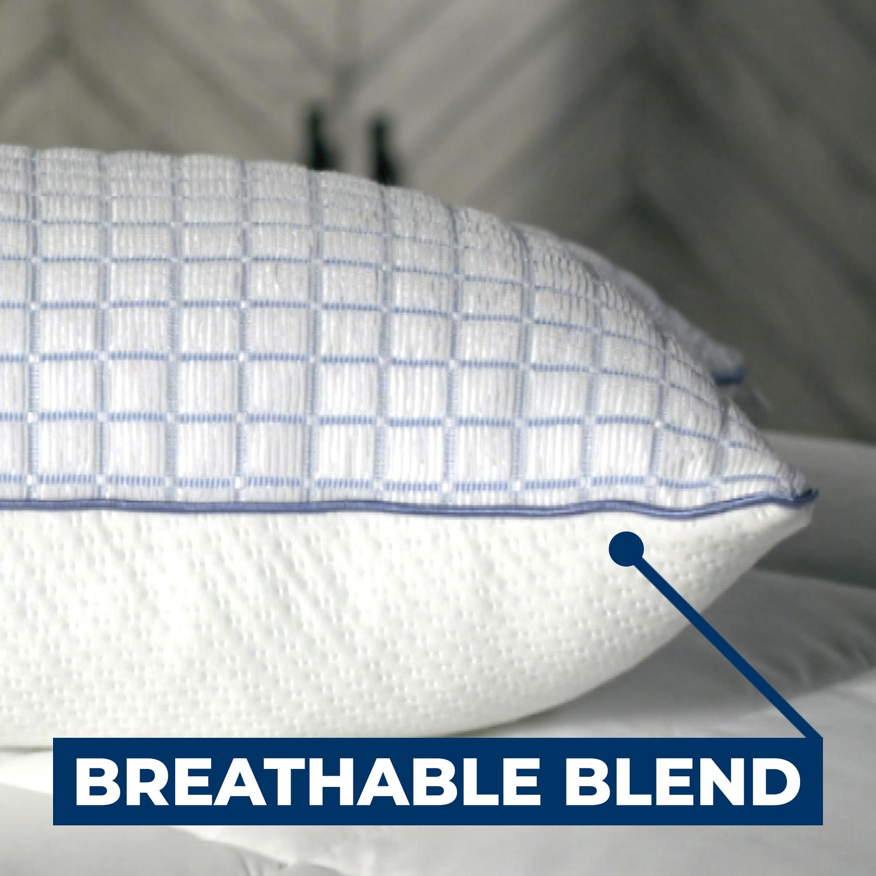 breathable blend side