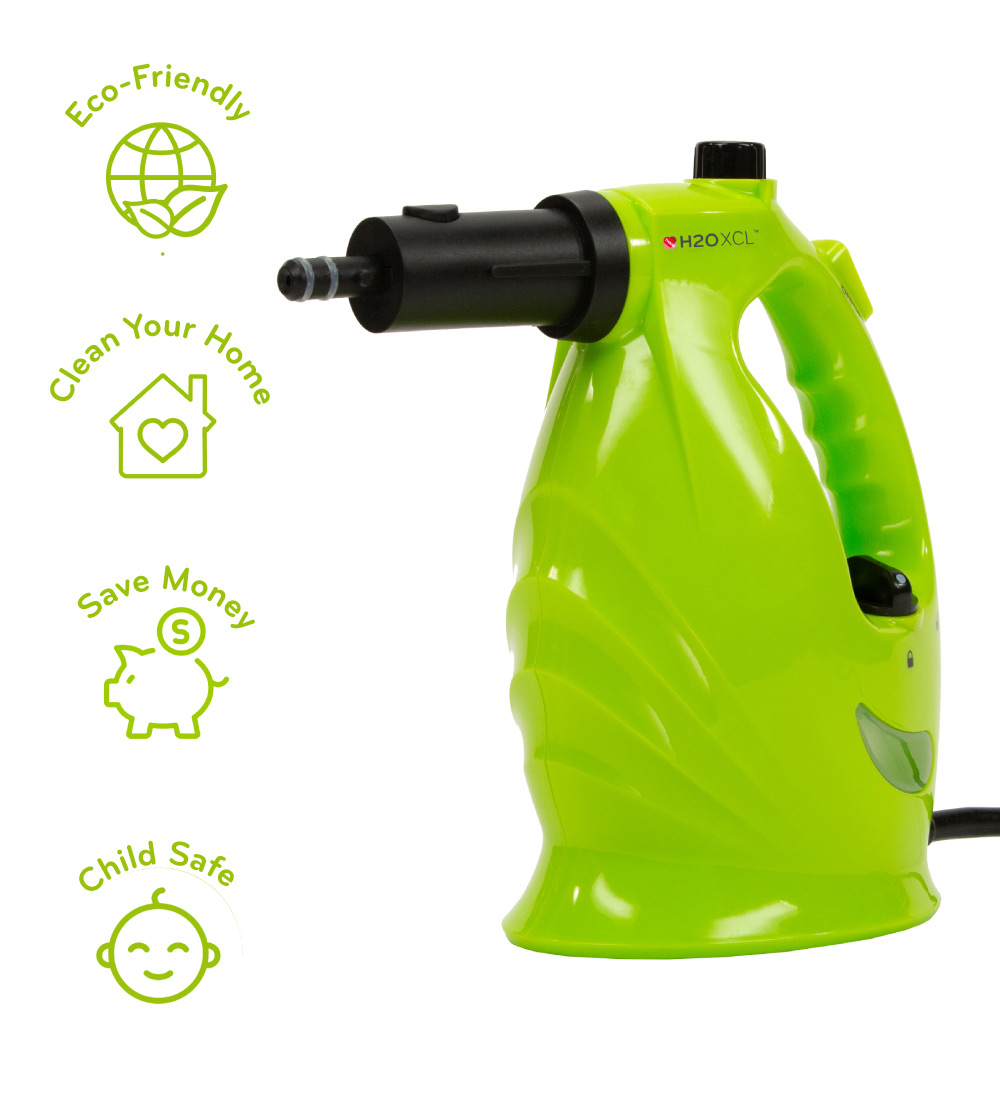 XCL is a steam cleaner with lots of beneficial features
