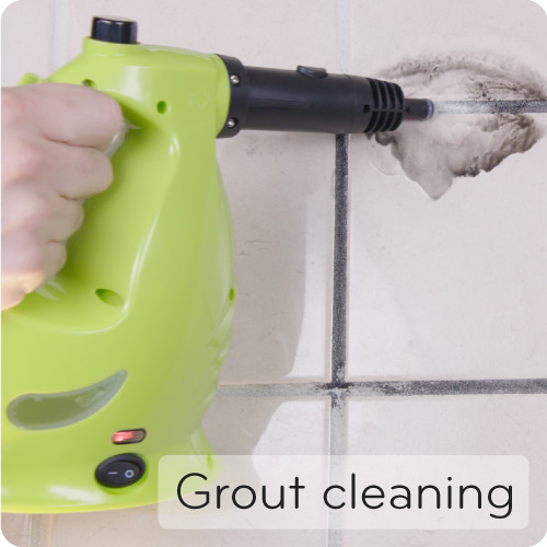 XCL removes hard grout