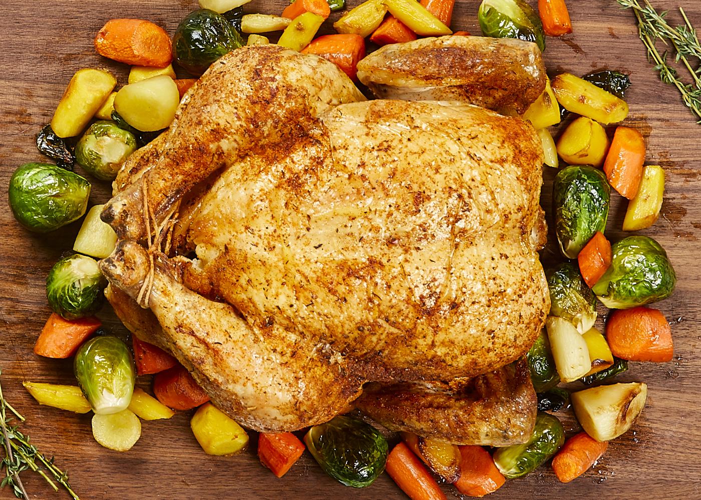 Juicy Roast Chicken